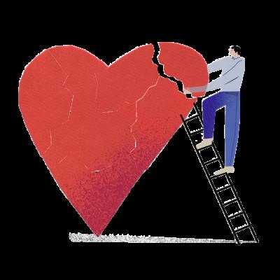 Trennung Liebeskummer